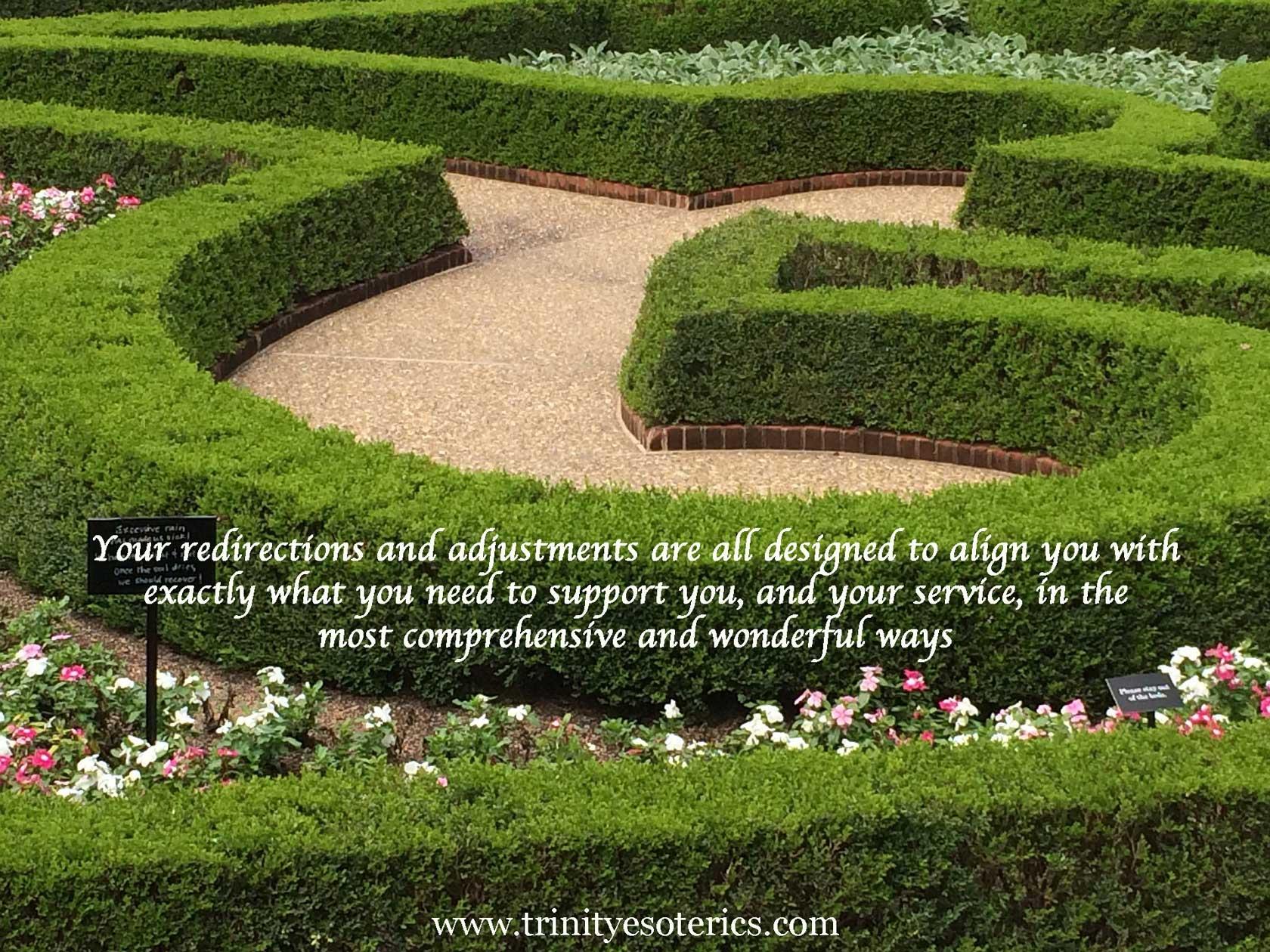 garden maze trinity esoterics