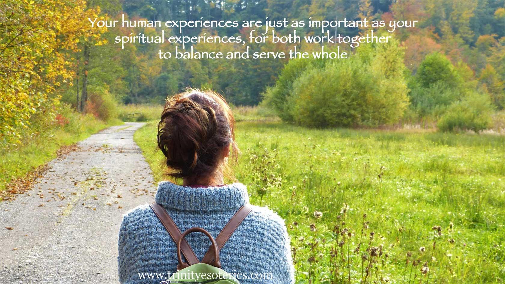 woman hiker trinity esoterics