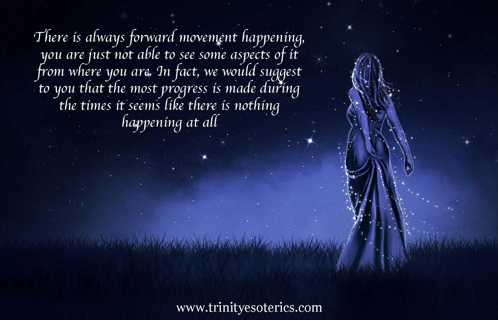 woman of light looking toward sky trinity esoterics