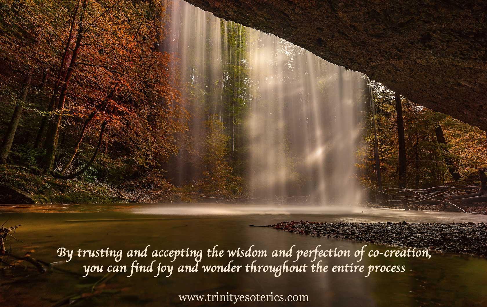 magical waterfall trinity esoterics