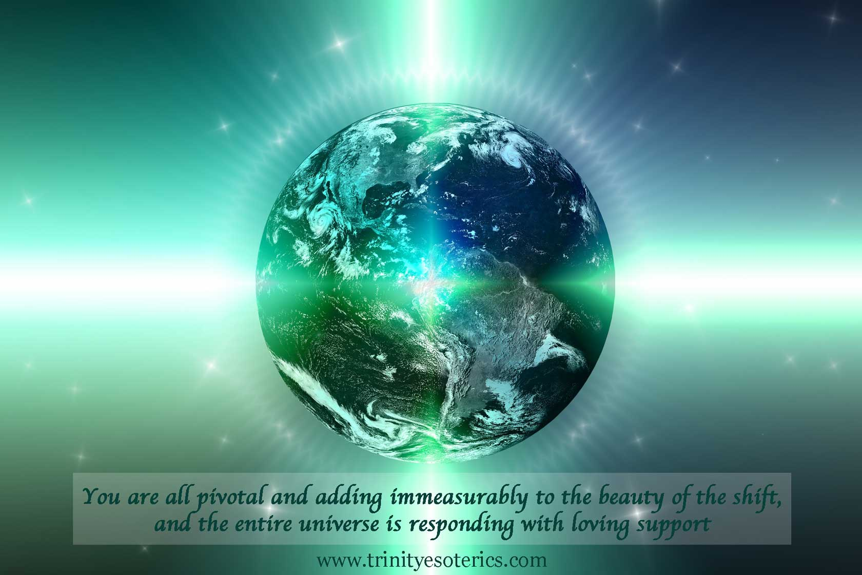shining planet earth trinity esoterics