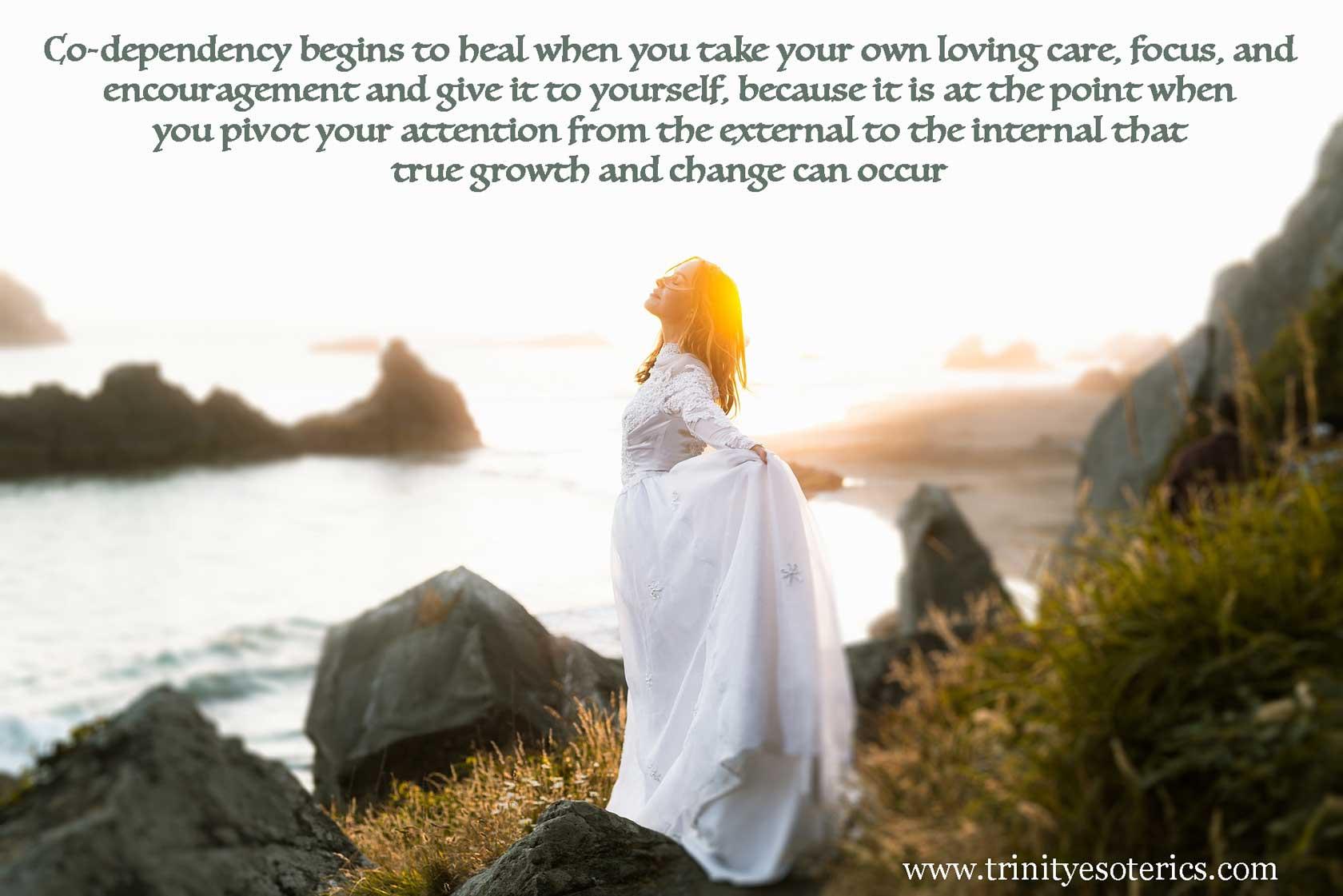 empowered woman trinity esoterics