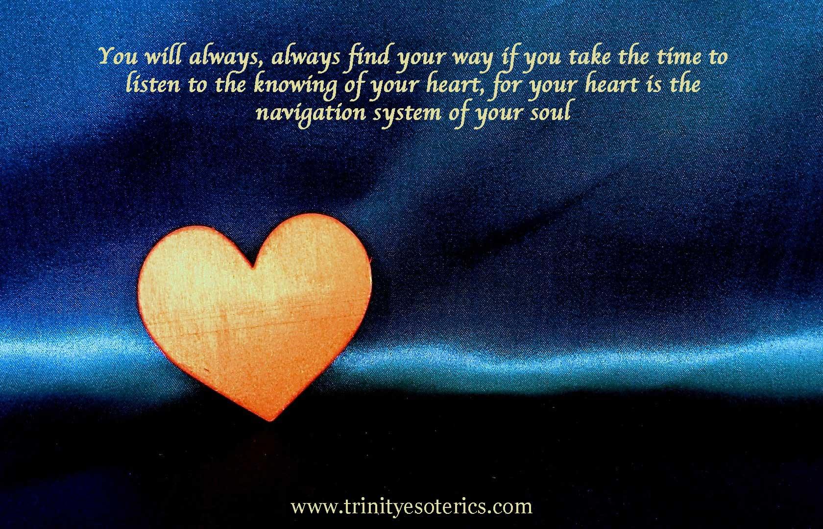heart flow trinity esoterics