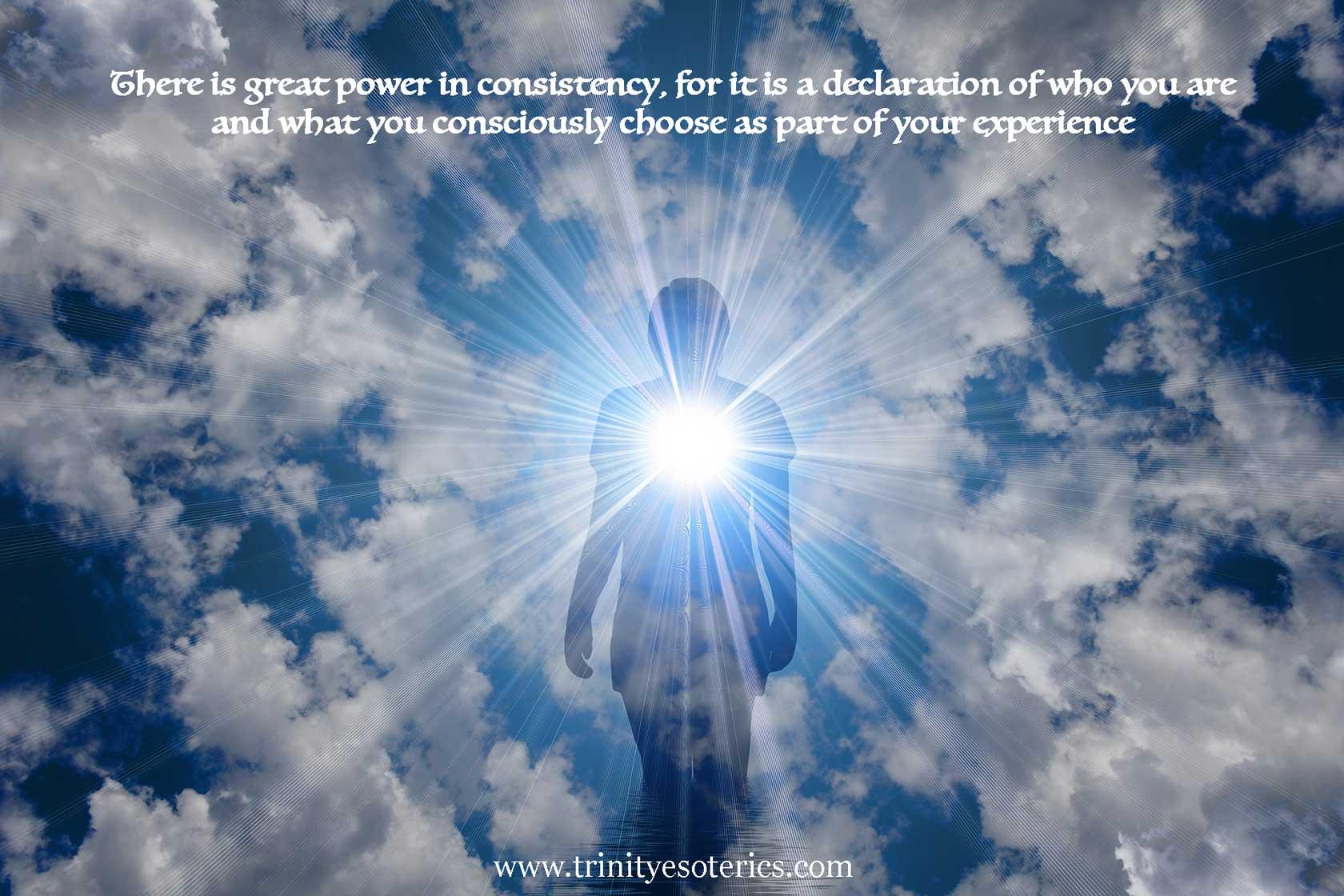 person of light trinity esoterics