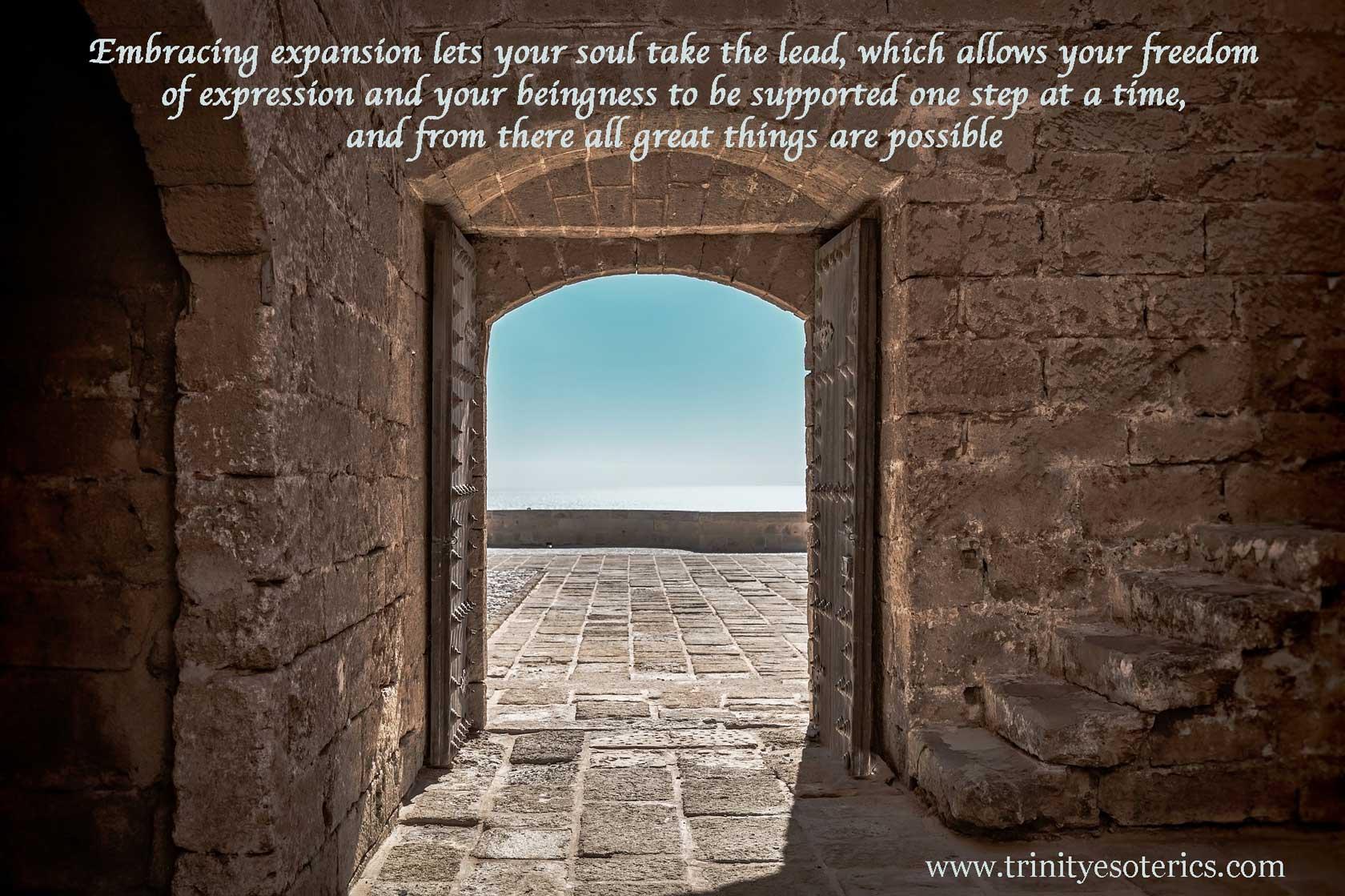 open doorway trinity esoterics
