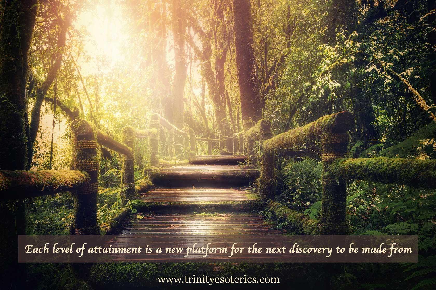 steps in jungle trinity esoterics
