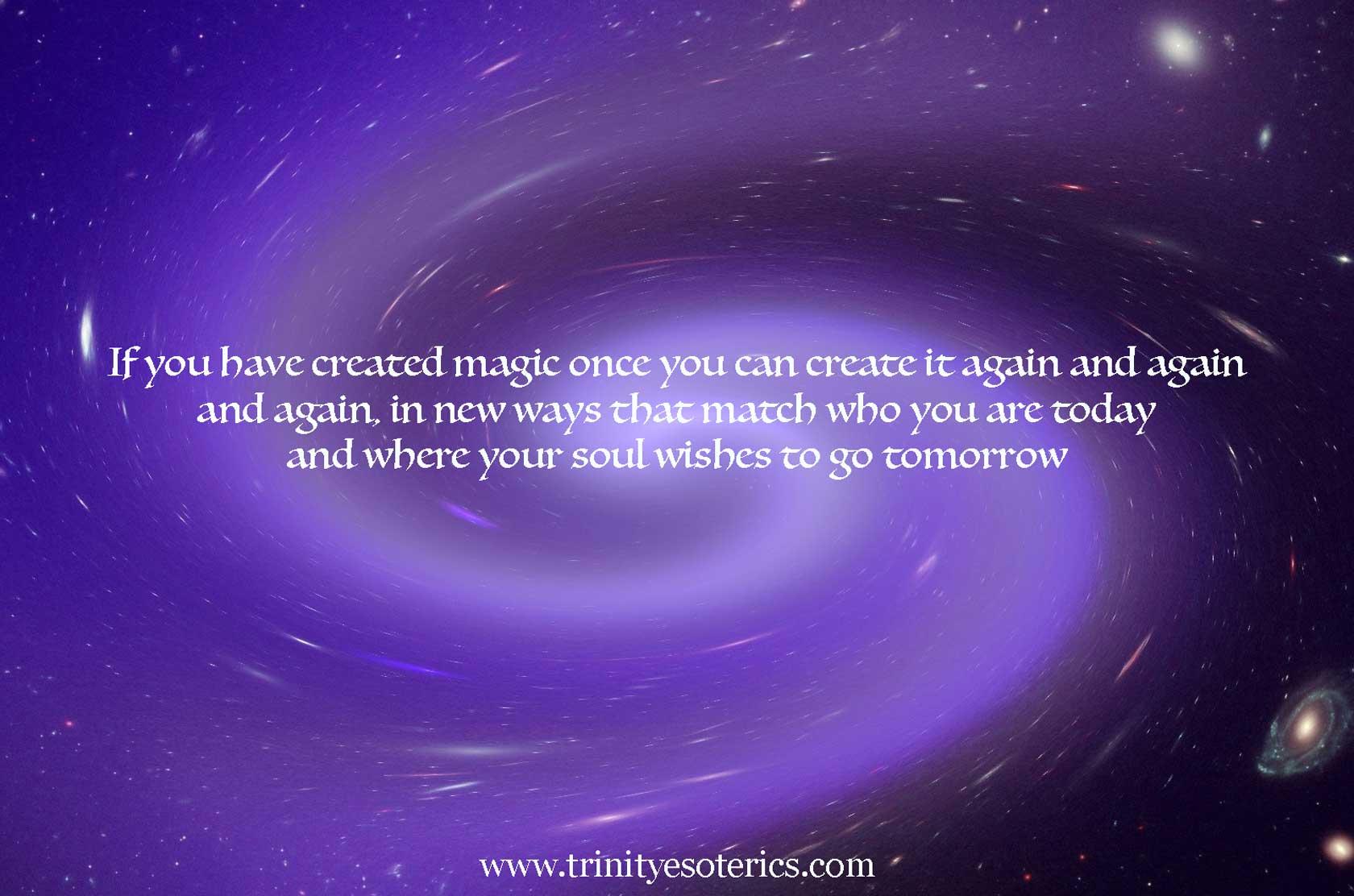 cosmic spiral trinity esoterics