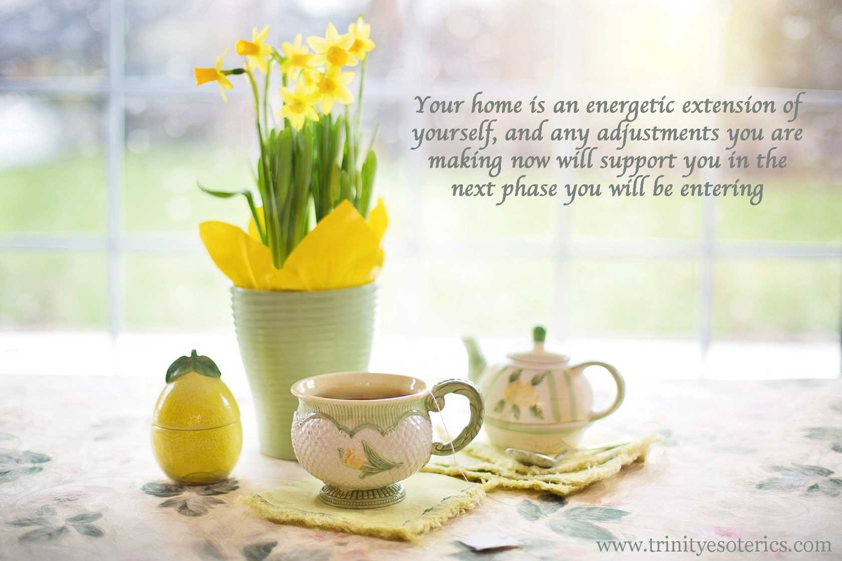 daffodils and teapot trinity esoterics