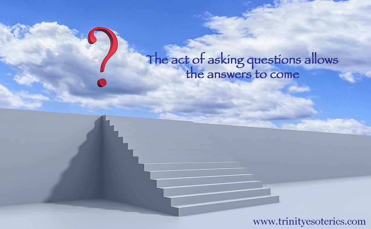 question mark in sky trinity esoterics