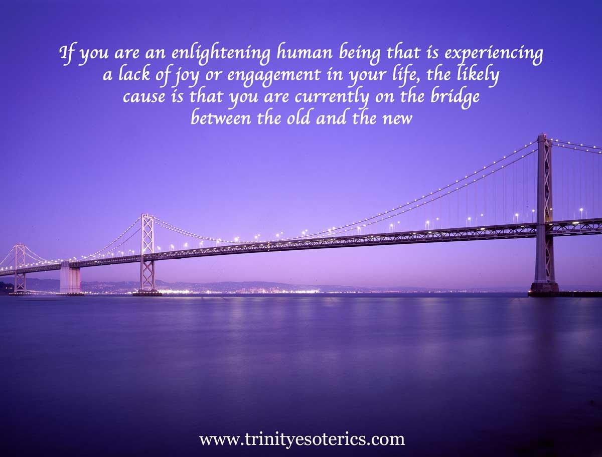 beautiful lighted bridge trinity esoterics