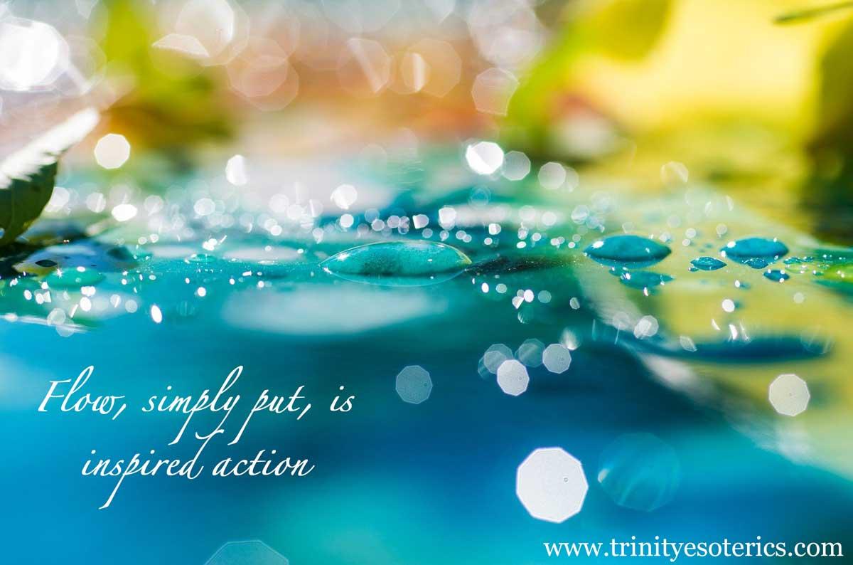 beautiful flowing water trinity esoterics