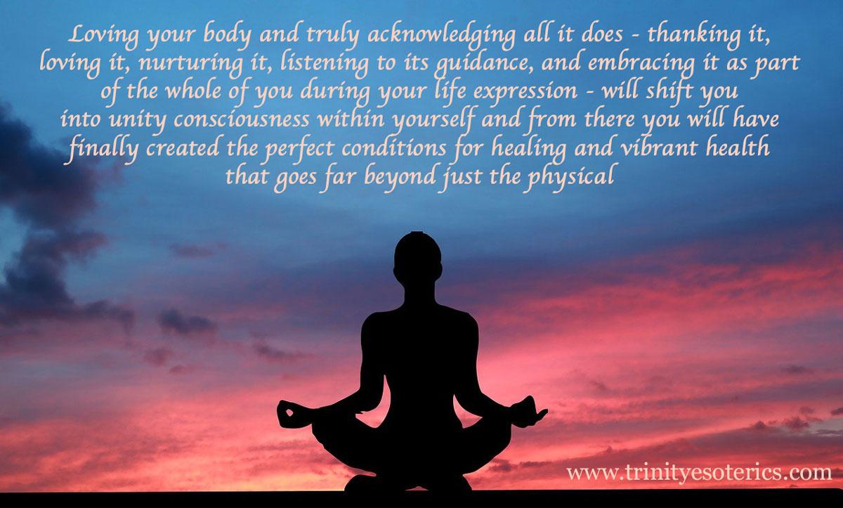meditating at sunset trinity esoterics