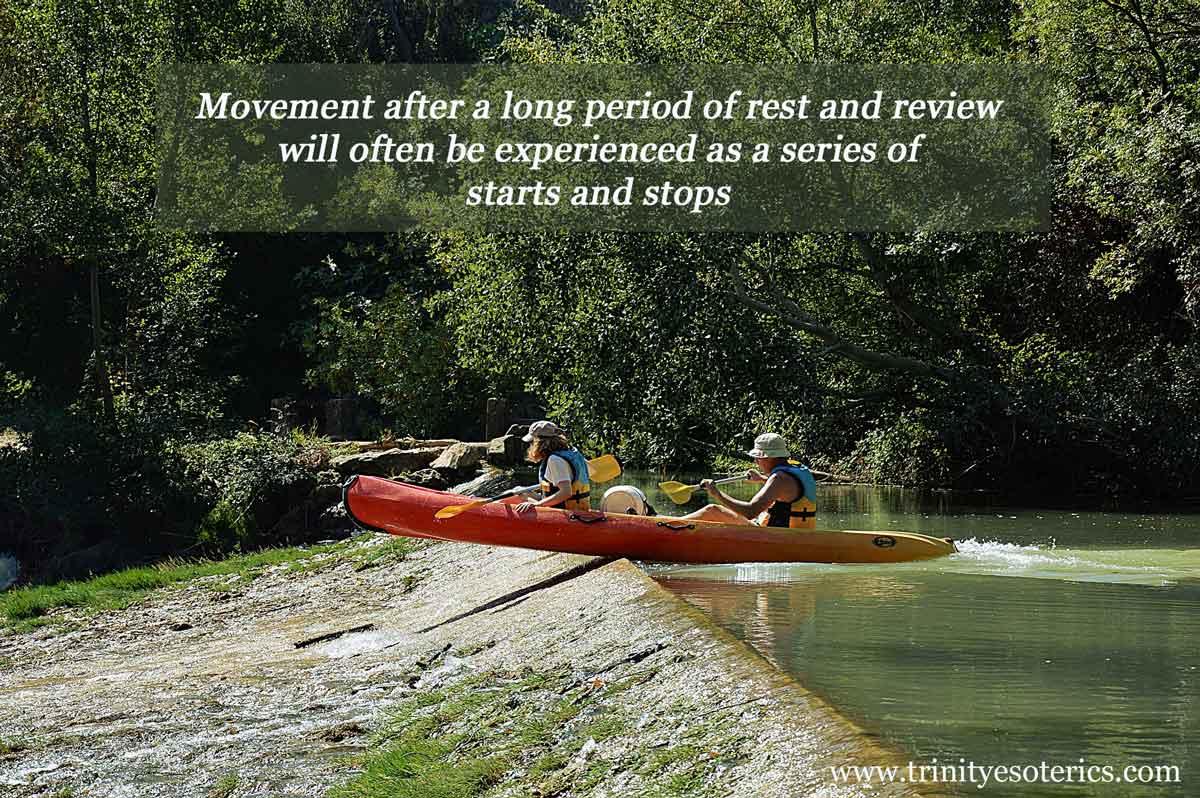 canoe run aground trinity esoterics