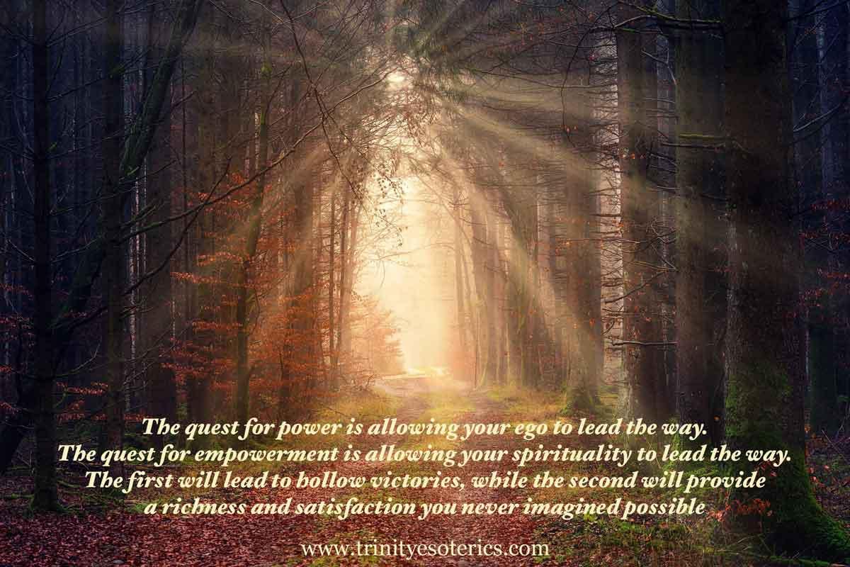 lighted path trinity esoterics
