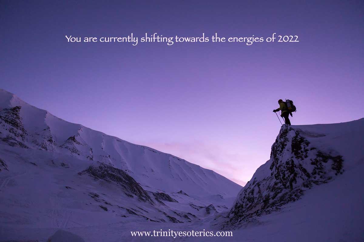 mountain climber purple sky trinity esoterics